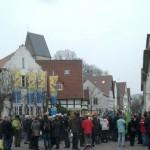 Mahnwache auf dem Ronchinplatz