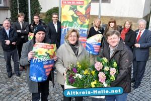 Halle blüht auf, das neue Familienfest zum Frühlingsanfang in Halle Westfalen