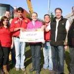 Baggerspiel der MVS Zeppelin bringt stolze Spendensumme