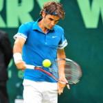 Roger Federer will sich in Ostwestfalen den sechsten Turniersieg holen