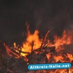 Flammeninferno in Kölkebeck