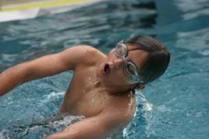 Schwimmveranstaltung in Hillegossen.