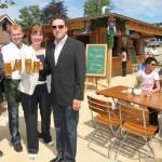 Neueröffnung eines attraktiven Biergartens für 150 Personen mit Grillhaus eröffnet