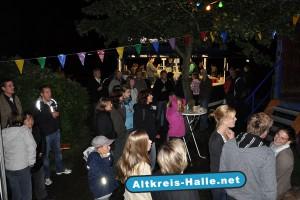 Sommerfest in Halle-Künsebeck, mit Bühnenprogramm.