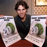 Der spanische Matador ist wieder da: Rafael Nadal kehrt zur Jubiläumsauflage der GERRY WEBER OPEN nach HalleWestfalen