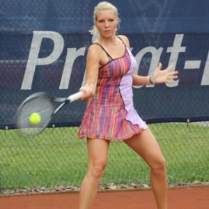 Der erste Neuzugang der Ostwestfalen: Die 21-jährige Nina Zander (bisher THC im VfL Bochum) spielt in der kommenden Saison für den TC Blau-Weiss Halle in der zweiten Tennis-Bundesliga Gruppe Nord. © GERRY WEBER WORLD