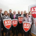 Landrat Adenauer führt Aktionsbündnis A 33 sofort