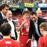 "Vietentours Volleyball DVV-Pokalfinals: Duell zweier Star-Trainer: ""Schüler"" Mihai Paduretu und ""Lehrmeister"" Stelian Moculescu"