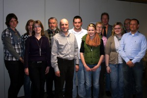 Neuer Vorstand des Schwimmverein Halle. Foto SV-Halle