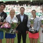 Startschuss für die GERRY WEBER OPEN: Champions Trophy ist große Tennisparty
