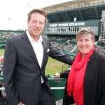 WTA-Supervisorin Pam Whytcross zu Gast bei den GERRY WEBER OPEN