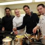 Spargel frisch auf den Tisch mit den Doppelstars Aisam Qureshi und Jean-Julien Rojer