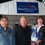 Vater und Sohn Schwerdtfeger zu Gast bei der Haller Bürgermeisterin: