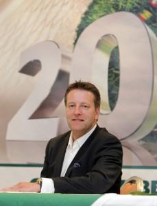 """Turnierdirektor Ralf Weber zieht Bilanz: """"Eine tolle Geburtstagsparty, die allen großen Spaß gemacht hat."""" © GERRY WEBER OPEN (HalleWestfalen)"""