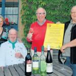 Badische Weine stehen beim zehnten Schloss-Weinabend am 18. August im Mittelpunkt