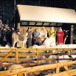 Weihnachtsgeschichte mit Bauerntheater im Steinbruch / Erste Vorstellung 20. Dezember