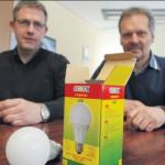Mit LED-Lampen Strom sparen: Stadt Borgholzhausen ist Vorreiter