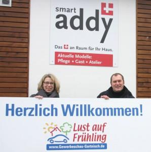 Haben die Organisation fest im Griff: Antje Enkemann-Schneider und Björn Bertelmann setzen bei den Ausstellern auf eine ausgewogene Mischung.