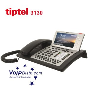 "tiptel 3130 Enterprise IP-Telefon ""Made in Germany"""