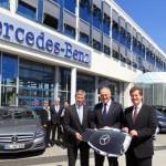 Mercedes-Benz stellt seit 18 Jahren die Fahrzeugflotte für die GERRY WEBER OPEN