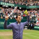 Roger Federer gewinnt das Halbfinalduell der Freunde 3:6, 6:3, 6:4 gegen Tommy Haas
