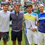 Roger Federer und Tommy Haas verlieren Doppel-Premiere gegen Jürgen Melzer und Philipp Petzschner