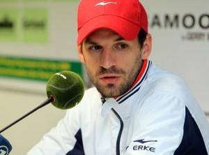 Der deutsche Davis Cup-Spieler Philipp Petzschner muss auf seinen Einzelstart bei den GERRY WEBER OPEN 2013 verzichten, hat aber noch Hoffnung auf Doppelmatches in HalleWestfalen. © GERRY WEBER OPEN (HalleWestfalen)