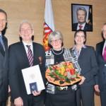 Arnold Weßling für jahrzehntelanges Engagement in Politik und Landwirtschaft mit dem Bundesverdienstkreuz am Bande ausgezeichnet