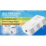500Mbit Powerline Bridge mit integriertem PoE-Injektor