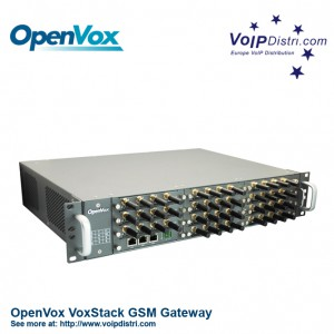 OpenVox VoxStack GW2120-44G Hybrid VoIP GSM Gateway with 44 GSM Channels