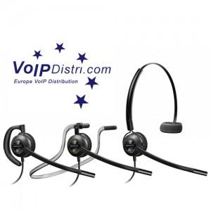 Neue Plantronics EncorePro Headset-Reihe und USB-Audioprozessoren unterstützen effiziente Kommunikation im Call-Center