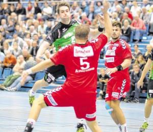 HeinerSteinkühler konnte gegen seine ehemaligen Teamkollegen kaum Akzentesetzen.           FOTO: H. KAISER