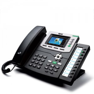 Tiptel 3030 IP Telefon + KM30-40 Tastenfeldmodul