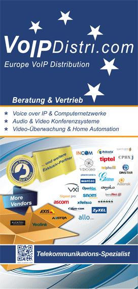 VoIPDistri.com Großhandel für Telekommunikation - Ihr Voice over IP Spezialist